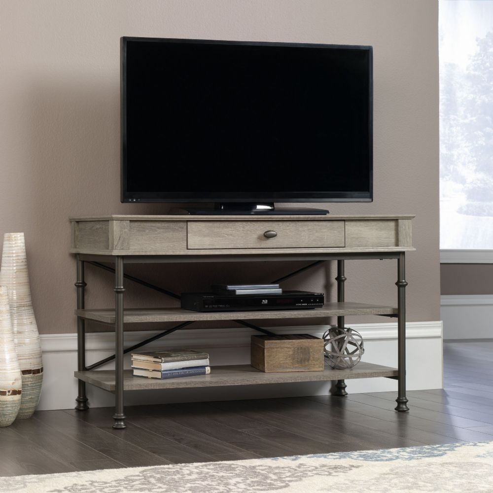 TEKNIK CANAL HEIGHTS Tv Stand In Northern Oak Finish 42""
